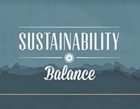 Sustainability is Balance