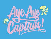 Spongebob Squarepants Typography