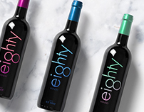 Eighty Winery || Wine Bottle Design