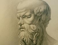 Academic drawings (pencils)