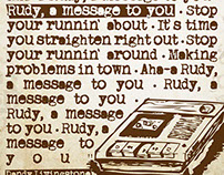 A Message To You Rudy - Quadro e Camiseta