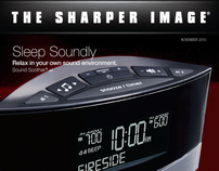 Sharper Image 2010 Holiday Catalog