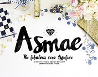Free Font - Asmae Handwritten