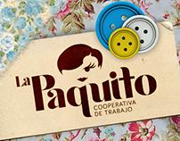 La Paquito / Cooperativa Textil - Imagen Institucional