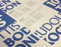 Varios trabajos tipográficos