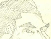 Sketchbook: figures