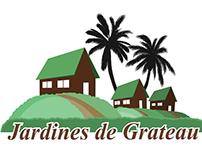 Tríptico - Jardines de Grateau