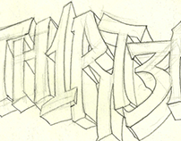 Sketchbook: hand lettering