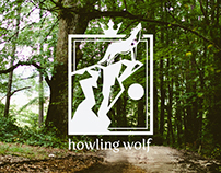 Howling Wolf Logo Template