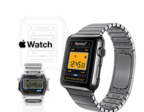 Back to the 90's! Oldschool style Apple Watch App