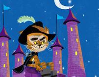 El Gato Con Botas Puss in Boots Children ilustrator