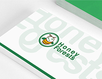 Honey forests branding design