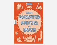 Mein Monster Kritzelbuch