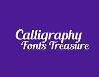 My Calligraphy Fonts Treasure