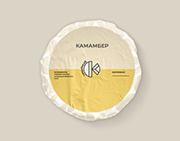 камамбер.рф / cheese farm identity + website