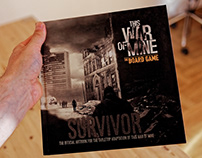 This War Of Mine - Board Game - Artbook