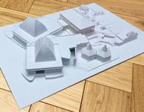 Putri Duyung Ancol Architectural Mass Mockup