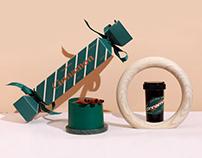 Merry Christams | 圣诞肉桂风味 豆罐礼盒 包装设计