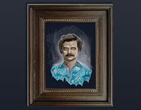 Pablo Escobar 'Narcos' Digital Painting