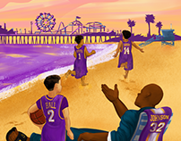 NBA Free Agency Travel Posters - Bleacher Report