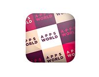 Diseño App Móvil AppsWorld
