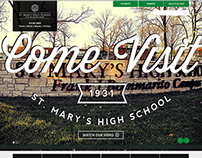 St. Mary's High School Web Graphics