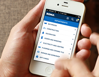 RONA mobile website