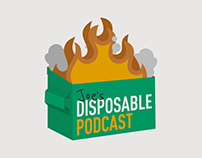 Joe's Disposable Podcast Logo