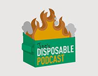 Joe's Disposable Podcast Logo