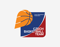 Czech Basketball Team Logo Family