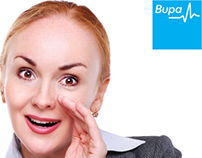BUPA HR billboard