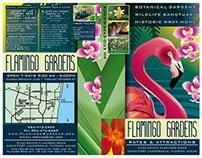 Botanical Gardens Illustration and Brochure