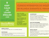 Grasshopper Language Centre: Editorial line