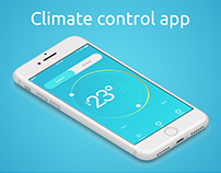 Climate control app for iOS