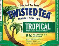Twisted Tea Flavor Elements Illustrations