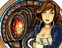 Bioshock - Art Nouveau Elizabeth