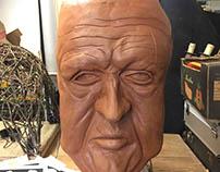 Work in Progress-Head Sculpture/Animatronics