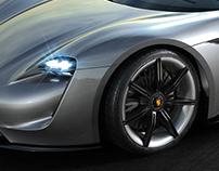 Porsche Mission E Concept | CGI