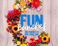 Fun Bunches / Magazine AD for Natural Flowers