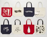 West Elm Towels & Totes