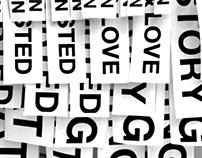 Umbrella & Typographic design
