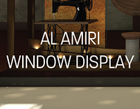Al Amiri Window Display