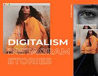 Digitalism - Instagram Stories Templates