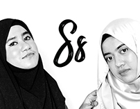 The Sharifah's - B&W