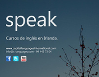 Cartelería Capital Languages, especial Irlanda (2013)