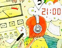 "Illustrations for the e-book ""成すも成さぬもないのだが"" #6"