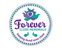 Forever Close Memorials Logo Concept Designs