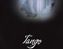 "Project poster theatrical production ""Tango"""