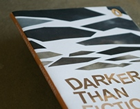 Darker than Fiction: Book cover design