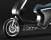 concept hydrogen power scooter for APFCT, edition2